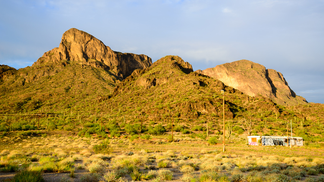 Lone Trailer near Picacho Peak